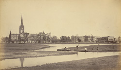 The Cathedral and Bishop's Palace [Calcutta]